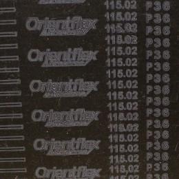 Рулонная шлифовальная шкурка на тканевой основе Orientflex Р36 (карбид кремния) рулон шириной 1400мм